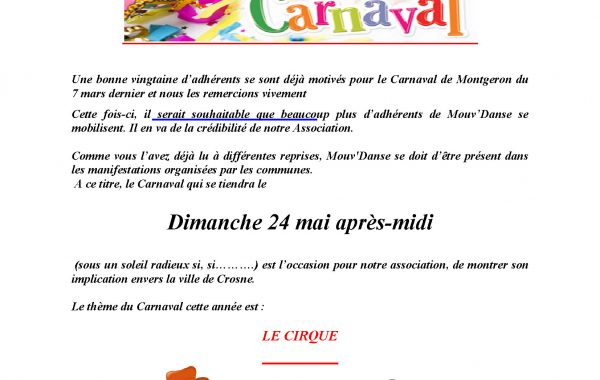 Carnaval de Crosne 24 avril 2015
