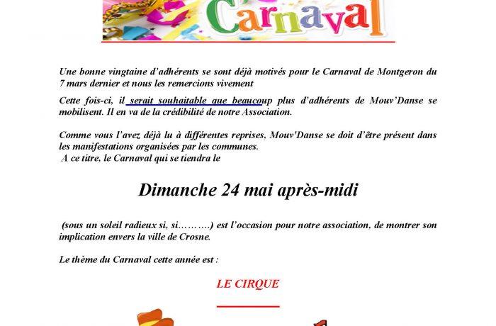 Carnaval de Crosne 24 avril 2015
